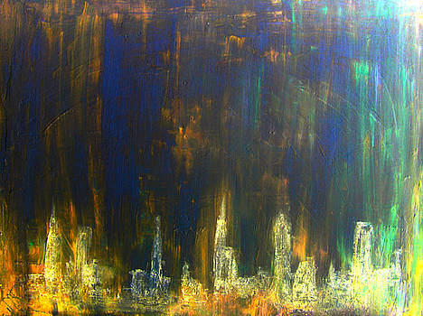 D15 - citylights by Kunst mit Herz Art with Heart