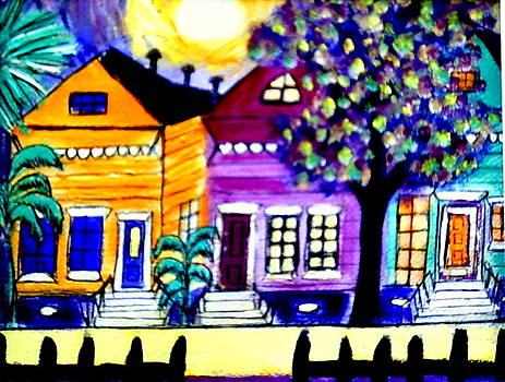 Da Bywater Neighborhood by Ted Hebbler