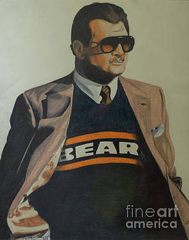 Da Coach Ditka by Melissa Goodrich