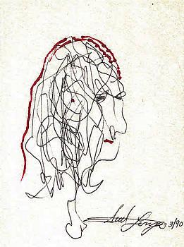 Da Vinci Drawing by Edward Longo