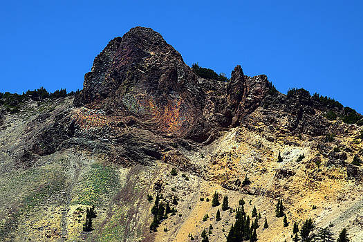 Frank Wilson - Dacite Lava Outcrop on Mount Lassen
