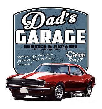 Dad's Garage-1968 Camaro by Paul Kuras