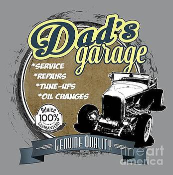 Dad's Garage-32 Ford by Paul Kuras