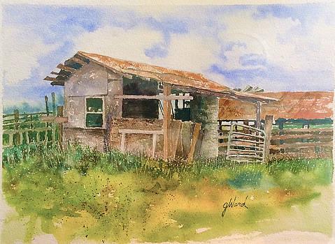 Dad's Saddle shed by Glen Ward