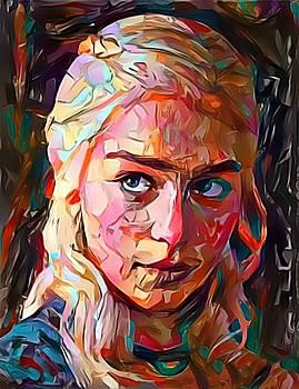 Daenerys Targaryen  by Paul Van Scott