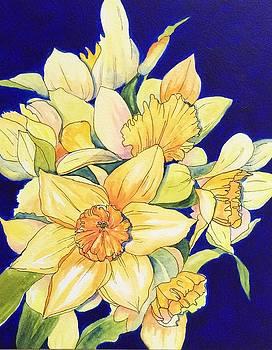 Daffodil Burst by Naomi Wilsey