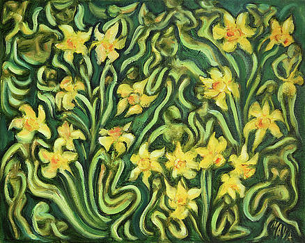 Daffodil Elemental Dream by Maya Soaringsun