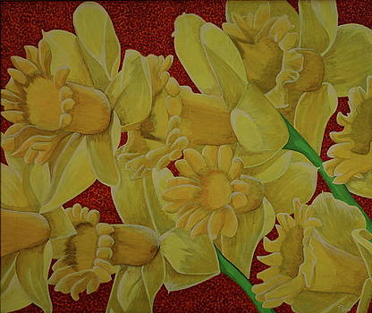 Daffodil Grandiflora by Paul Amaranto