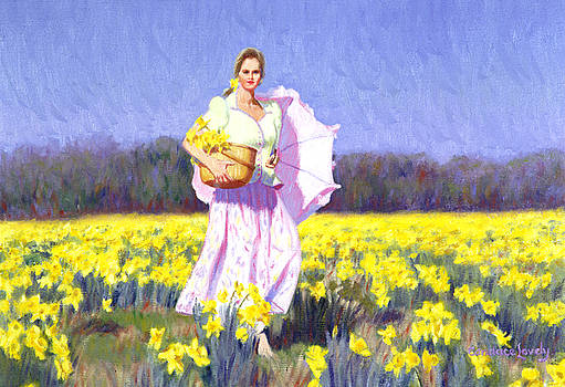 Candace Lovely - Daffodil Stroll