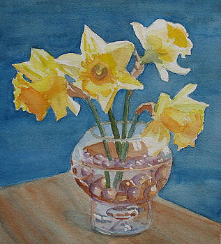 Jenny Armitage - Daffodils and Marbles