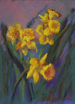 Daffodil Breeze by Cheryl Yellowhawk