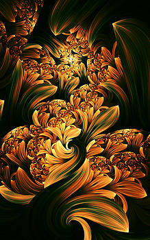 Daffodils by Digital Art Cafe