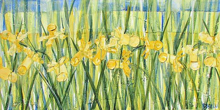 Daffodils on Parade by Diane Dean