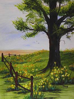 Daffodils by Rhonda Myers