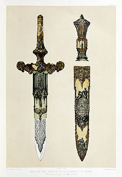 Dagger and sheath by Sir Matthew Digby Wyatt