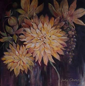 Dahlia Bouquet by Judy Osiowy