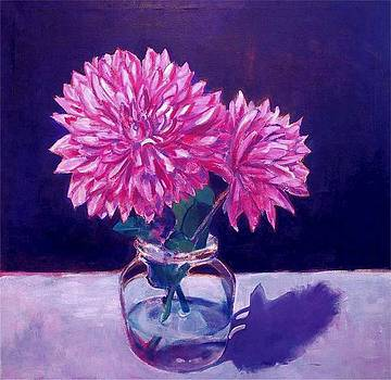 Dahlias by Dominic Fetherston