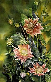 Alfred Ng - Dahlias in autumn