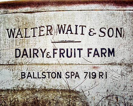 Dairy and Fruit Farm Print for Kitchen Art  by Lisa Russo