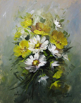 Daisies and Bettercups by David Jansen