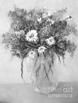 Daisies and Lilacs by Kathleen Hoekstra