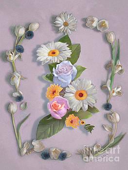 Daisies, Roses, and Tulips by Nancy Lee Moran