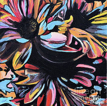 Daisies by Toni  Thorne