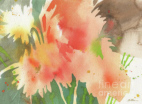 Daisy Abstract by Sheila Golden