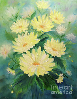 Daisy Bouquet by Jackie Cleveland