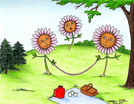 Daisy's have a picnic by Kathleen Walker