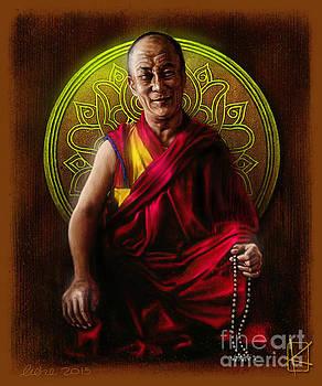 Dalai Lama by Andre Koekemoer