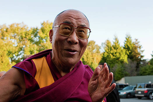 Dalai Lama III by Michael Thibault