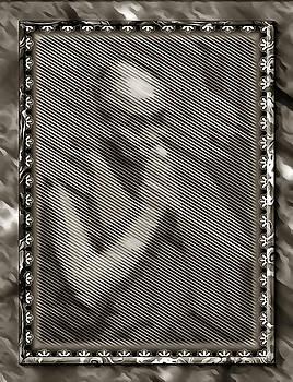 Dalai Lama in Contemplation by Mario Carini
