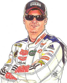 Dale Earnhardt Jr. by Neal Portnoy