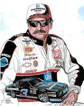 Dale Earnhardt by Neal Portnoy