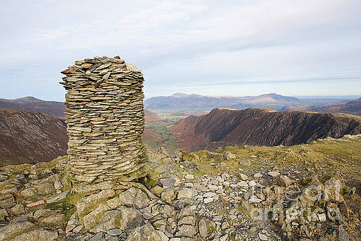 Dale Head summit cairn by Gavin Dronfield