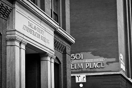 Dallas Admin Building on Elm by Jennifer Zandstra