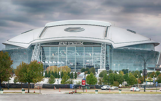 Dallas Cowboys Stadium 111417 by Rospotte Photography