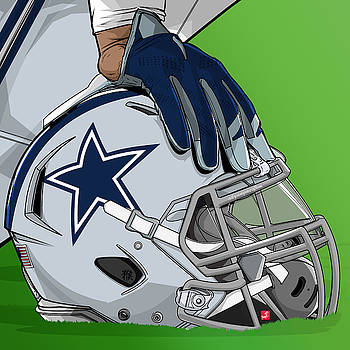 Dallas football by Akyanyme