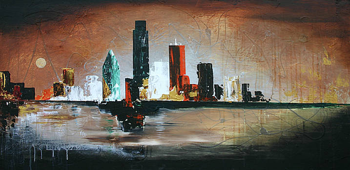Dallas Moon by Germaine Fine Art