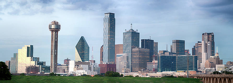 Dallas Panorama 022817 by Rospotte Photography