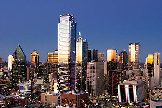 Dallas Reunion Nights by Rospotte Photography
