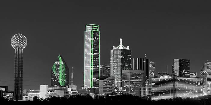 Dallas Skyline 021617 by Rospotte Photography