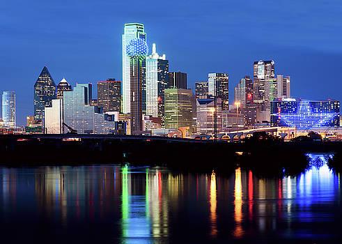 Dallas Skyline 09a2217 by Rospotte Photography