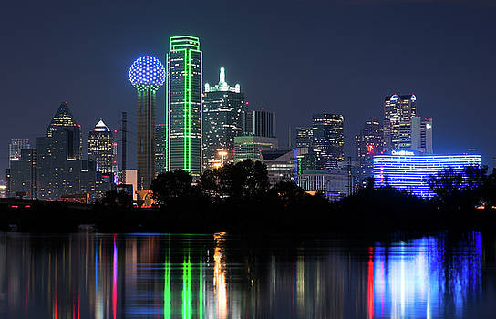 Dallas Skyline 13118 by Rospotte Photography