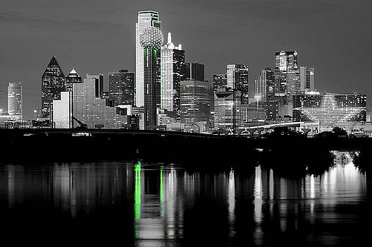 Dallas Skyline Gr91217 by Rospotte Photography