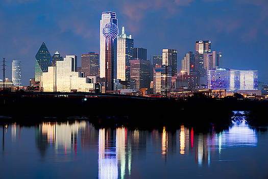 Dallas Skyline May 2015 by Rospotte Photography