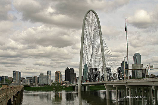 Dallas Suspension Bridge by Matalyn Gardner