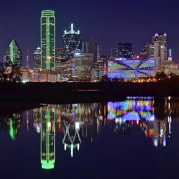 Dallas Texas Squared by Frozen in Time Fine Art Photography