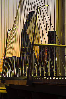 Dallas Through Bridge by David Clanton